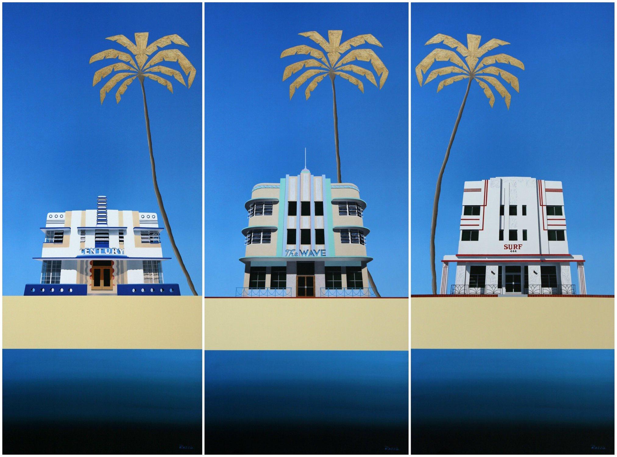 Razzia - Miami Buldings Triptych.jpg