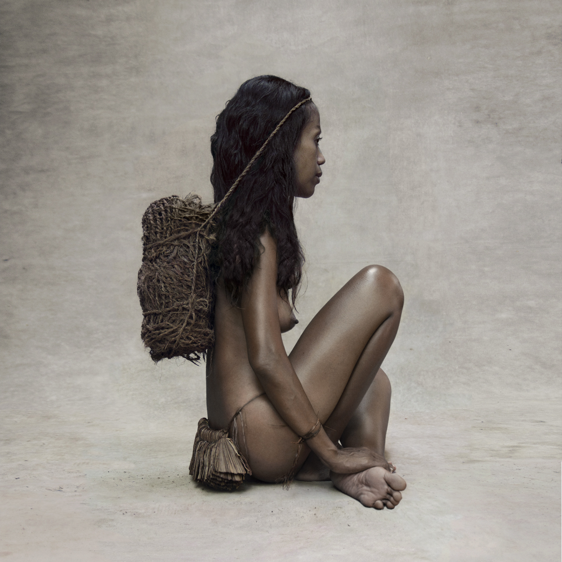 Fred Stichnoth - Girl with Coconut Rope, New Guinea.jpg