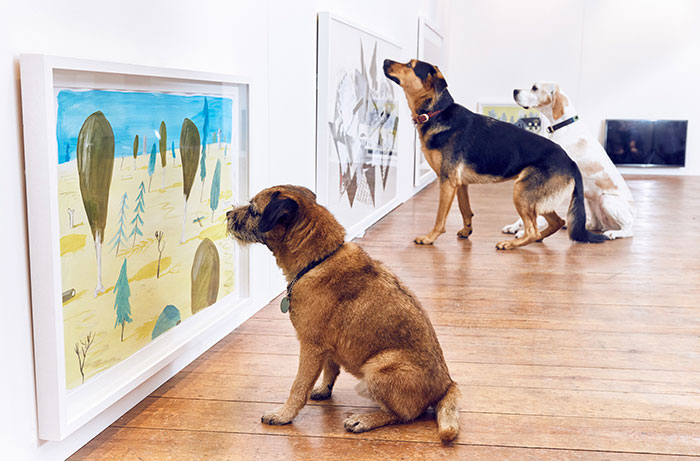 Dog's Looking At Art.jpg
