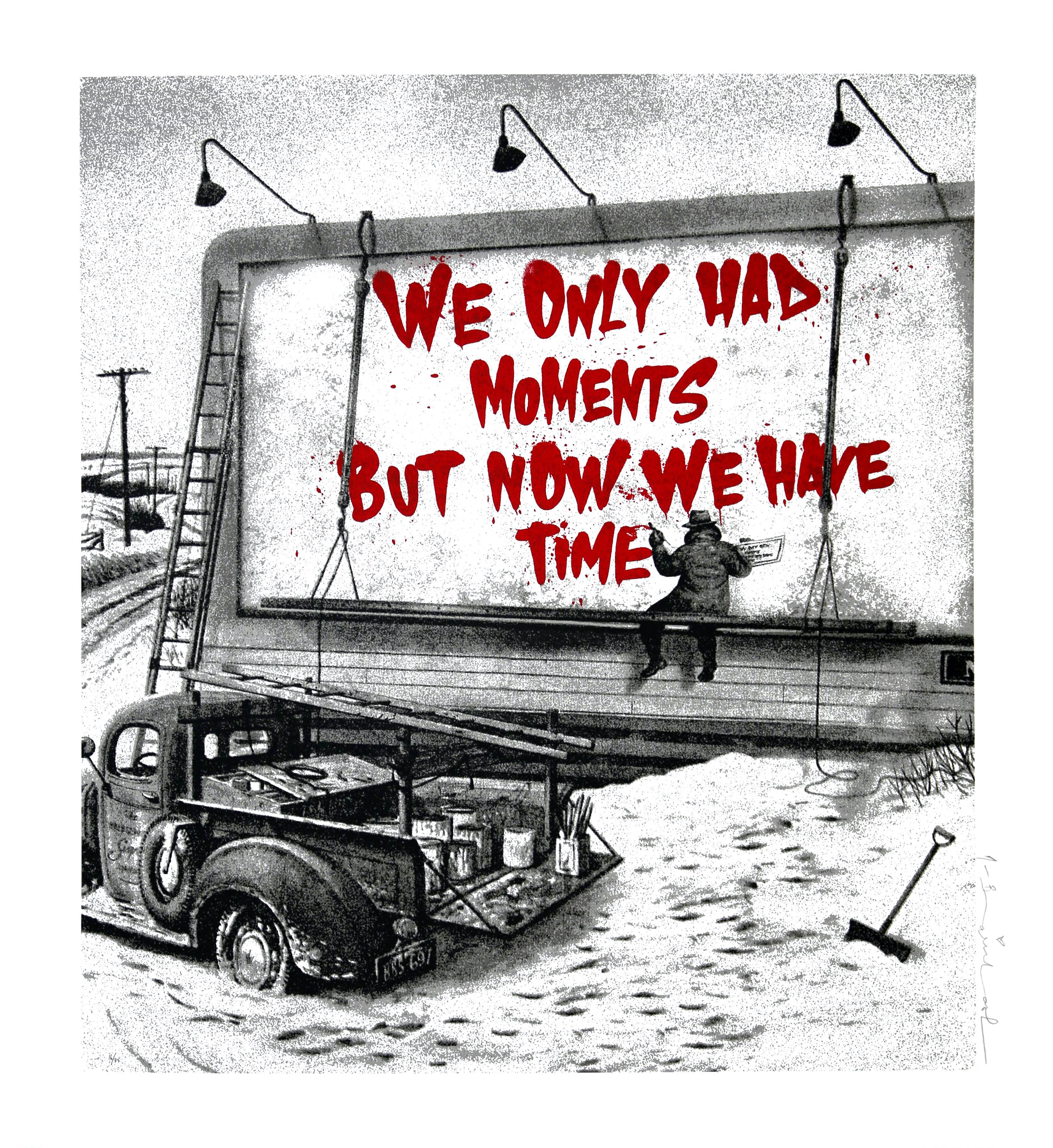 Mr. Brainwash - Now Is The Time (Red).jpg