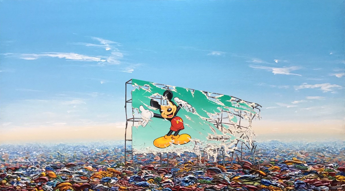 Jeff Gillette - Mickey Billboard Plastic Landfill.jpg