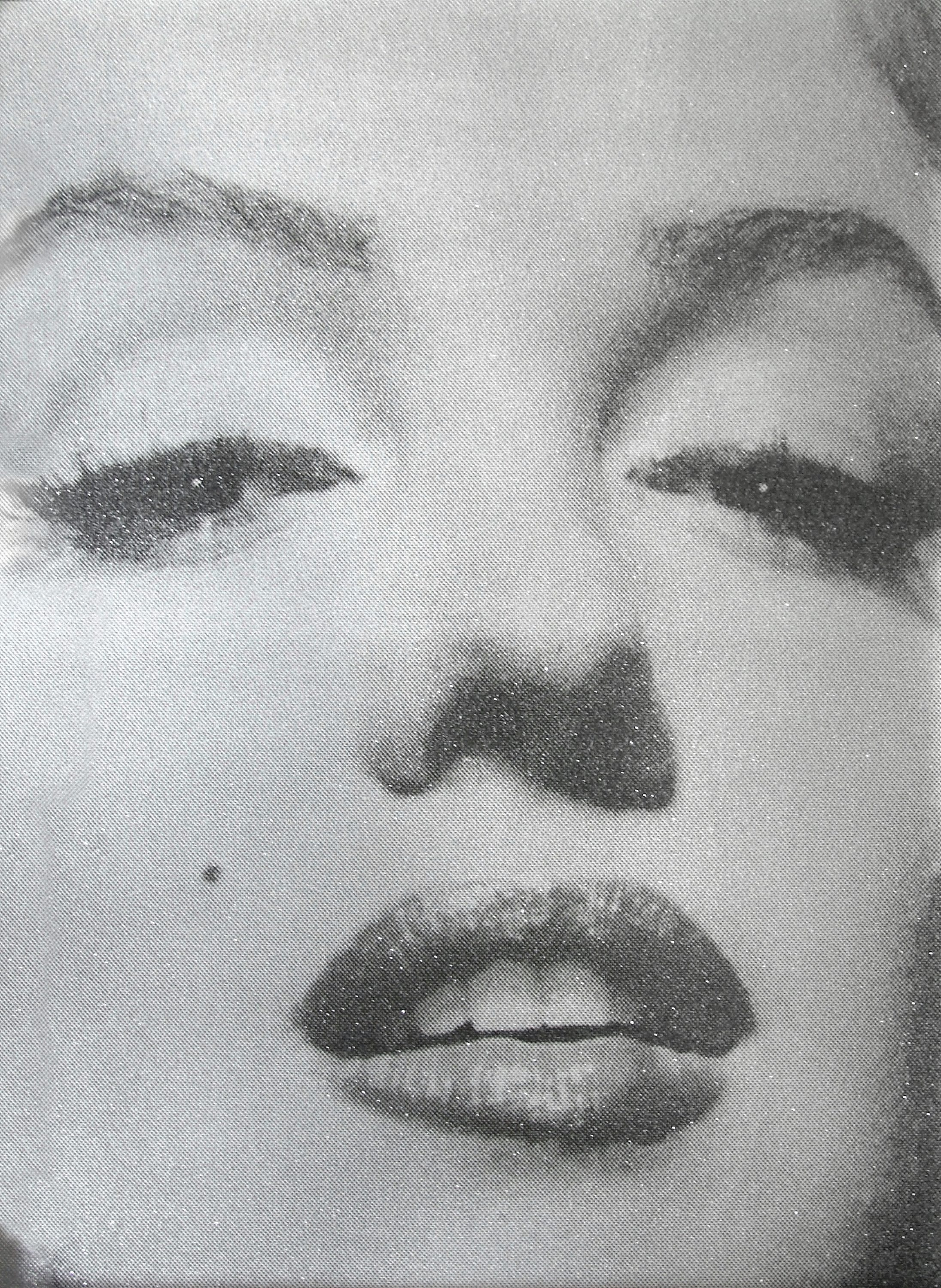 Russell Young - Marilyn Close Up (Atomic Silver and Black).jpg