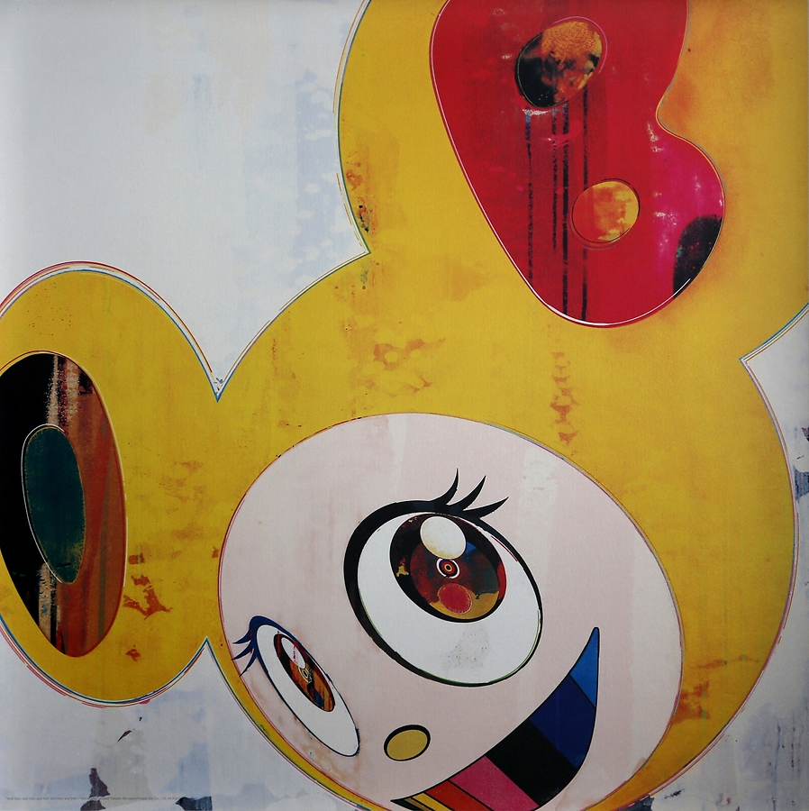 Takashi Murakami: The fabled blender of high-art morals with low-art commerce