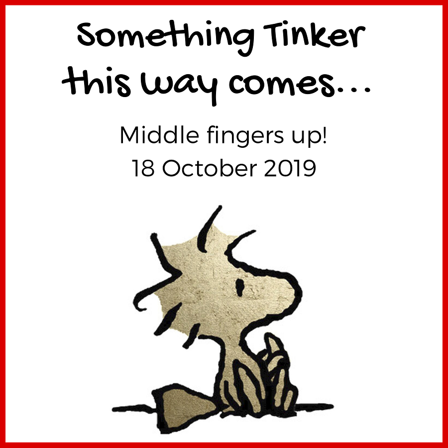 Something 'Tinker' This Way Comes!
