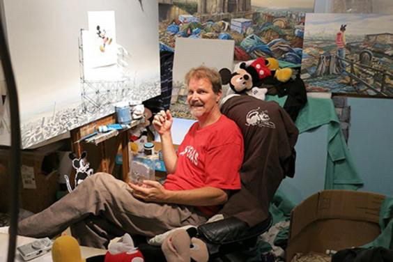 The Wonderful World of Jeff Gillette ~ Celebrating Slums and Taking Aim at Glass Castles