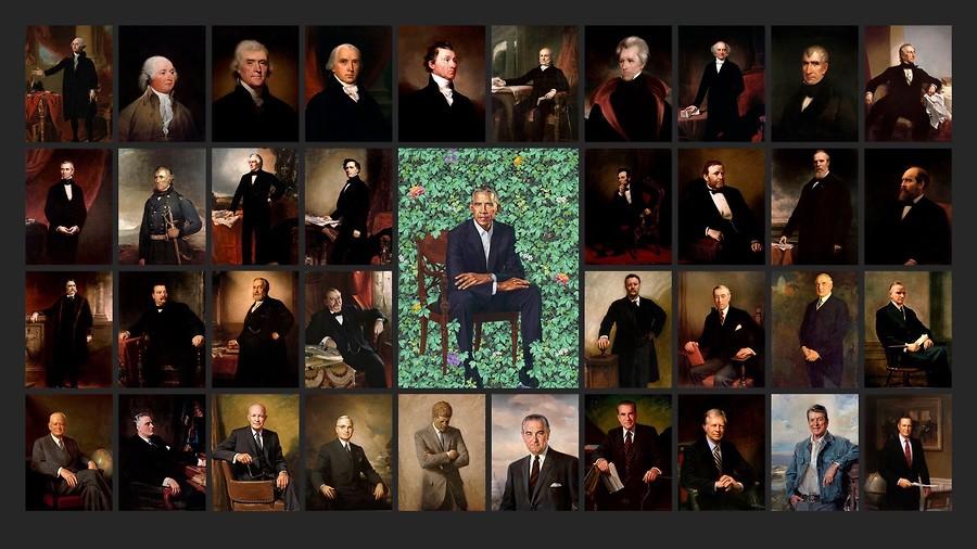 Booda Brand's Peachy Presidential Portrait