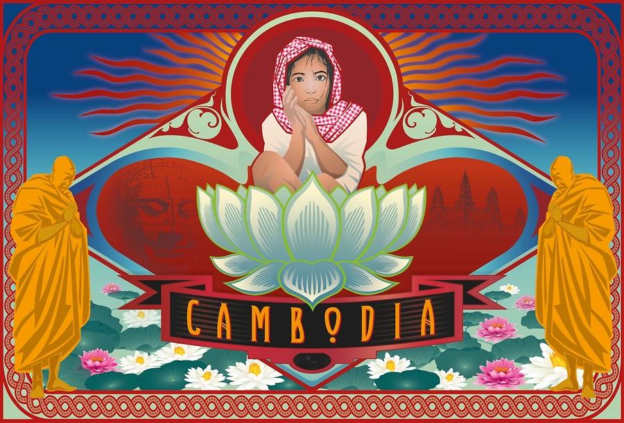 Cambodian Children (Wanderlust Series)