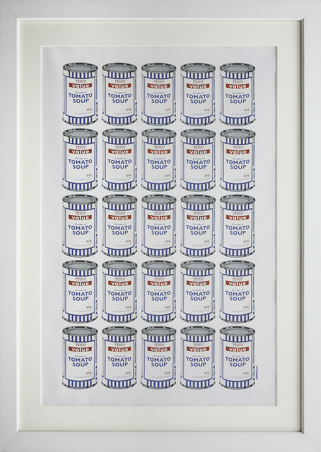 Soup Cans (Tesco Value Tomato Soup)