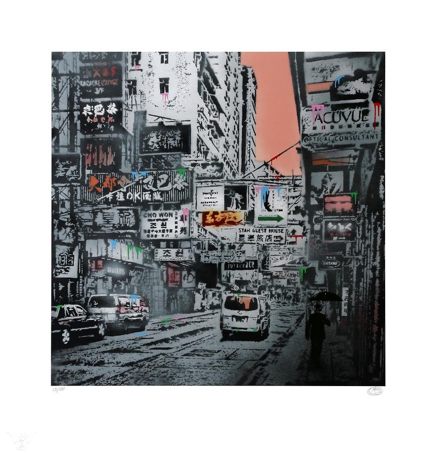 Basking In The Glory (TMA - Hong Kong Street Scene #1)