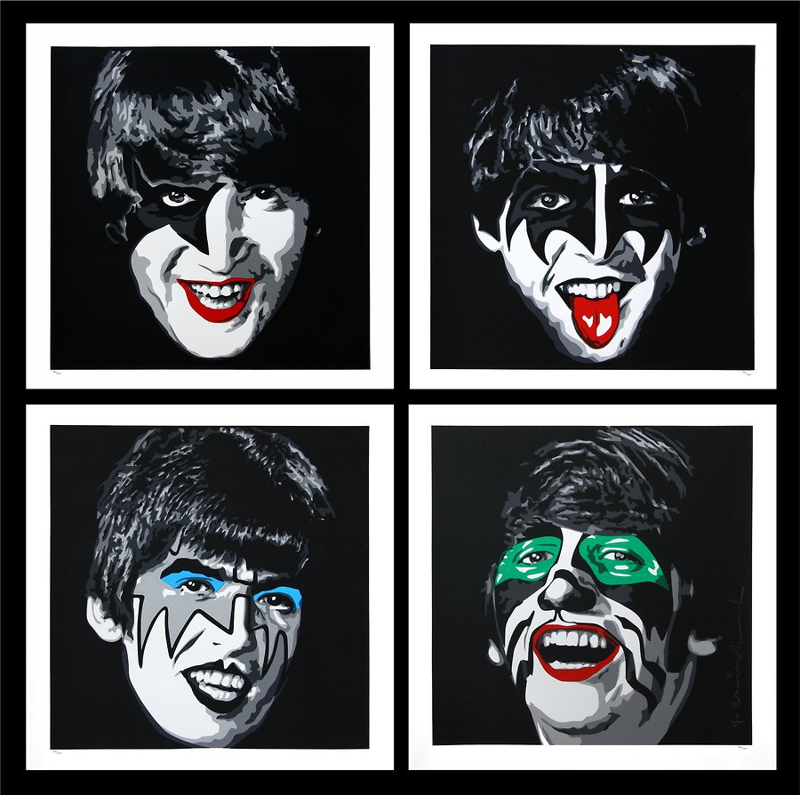 Kiss the Beatles (Print Set)