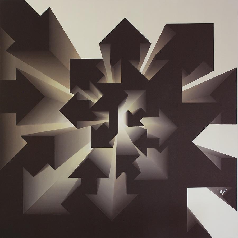 Fibonacci Nautilus - Inverse Beige