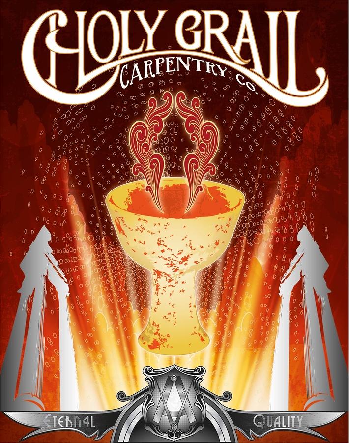 Holy Grail Carpentry (Spiritus Series)