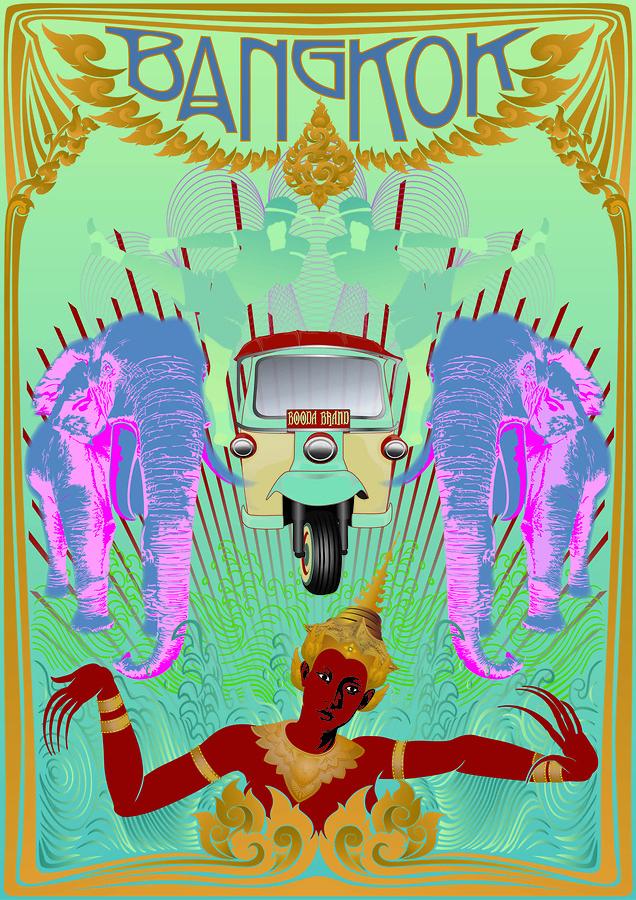 Electric Bangkok (Wanderlust Series)