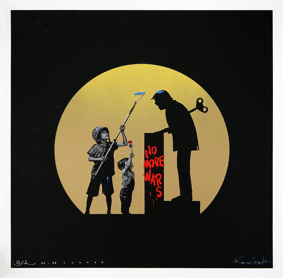 No More Wars (Gold)