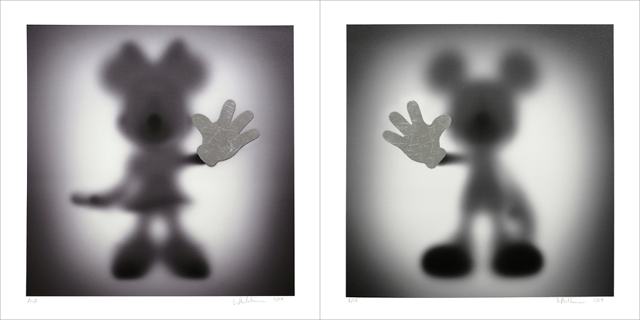 Gone Minnie and Mickey (Special Edition - Silver)