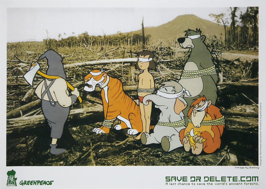 Save or Delete (Greenpeace Print)