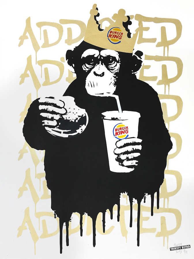 Fast Food Monkey - Burger King Gold