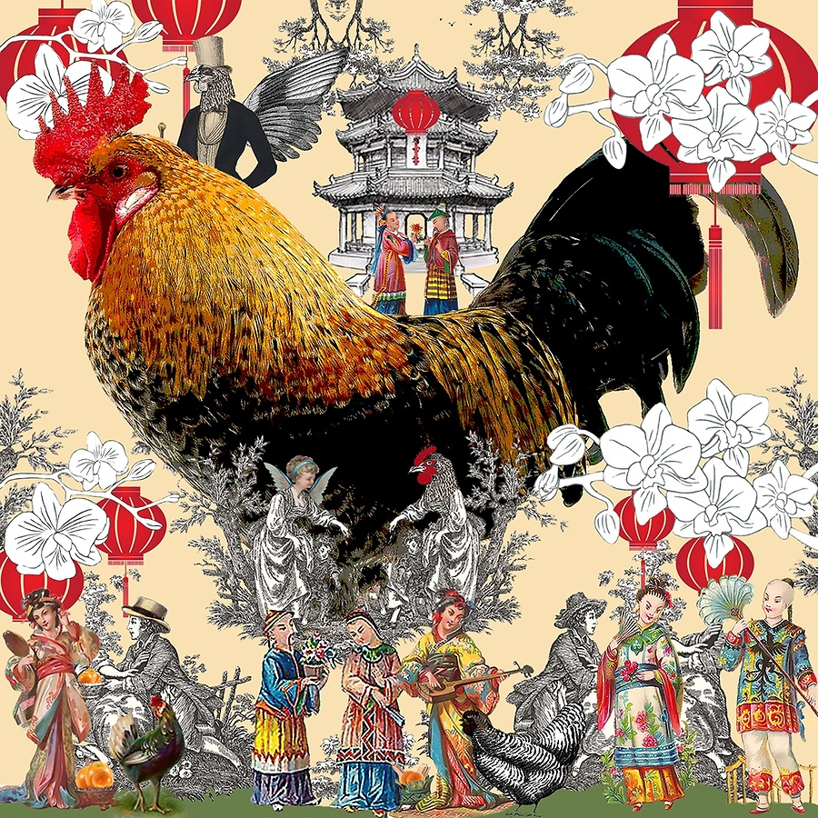 Happy Rooster CNY 2017