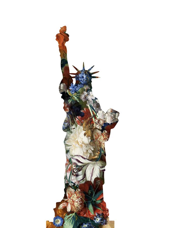 La Statue de la Liberté (White)