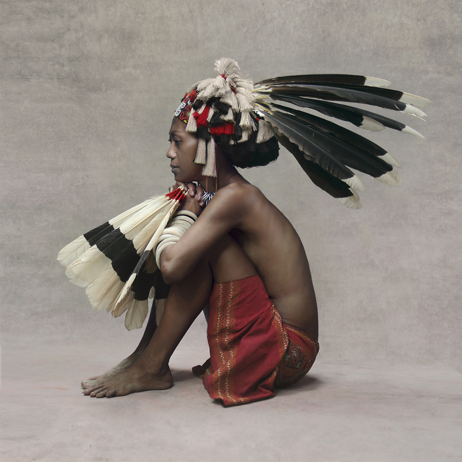 Dancing Girl, Borneo