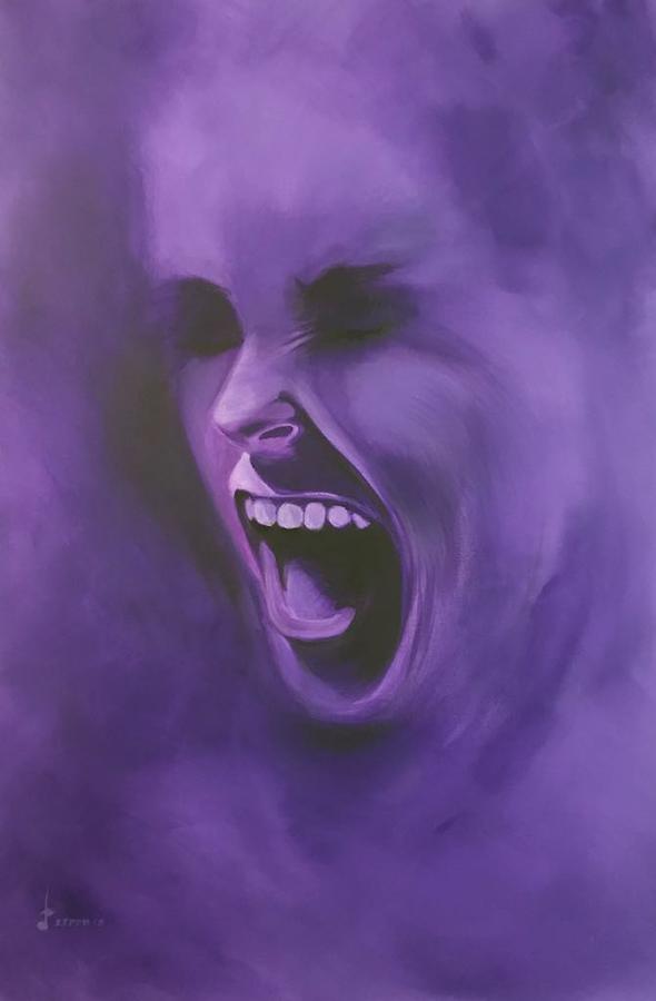 Smoke Screen - Dark Purple