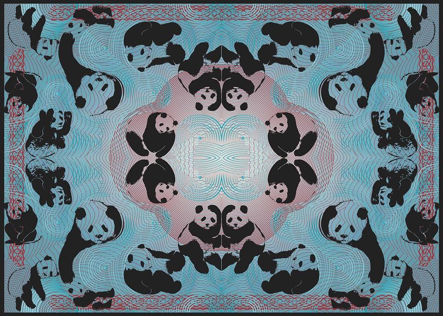 Pandamonium - Blue (Socio-Politicking Series)