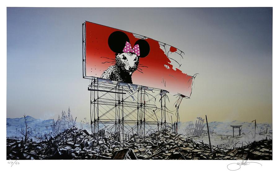 Banksy Minnie Nagasaki