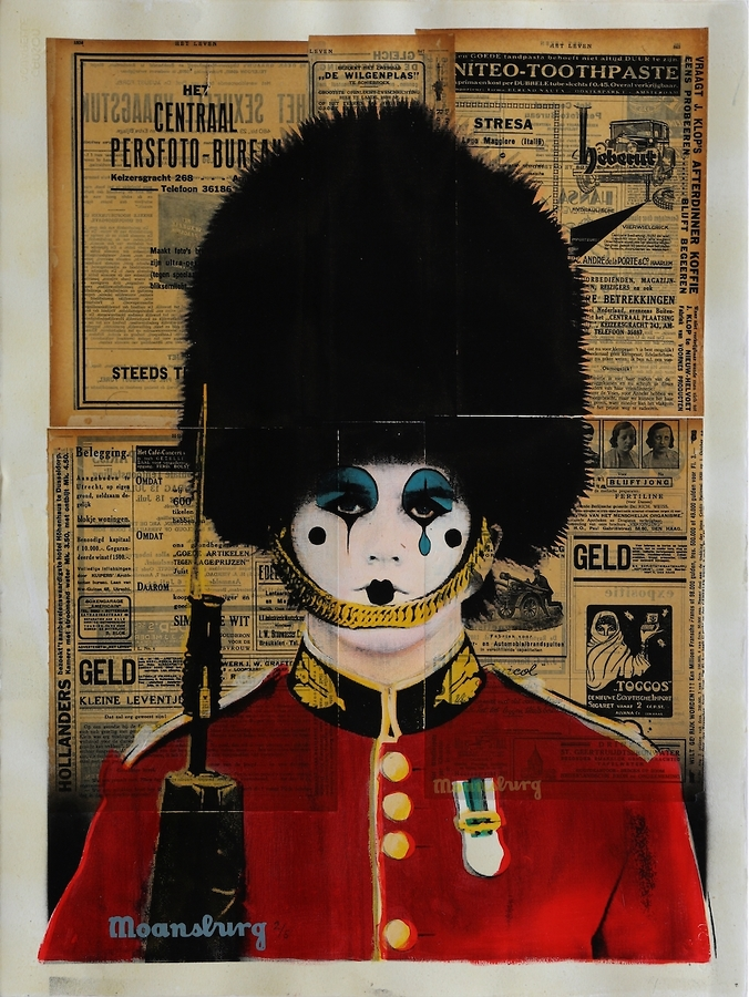 Changing The Guard (Pierrot Face)