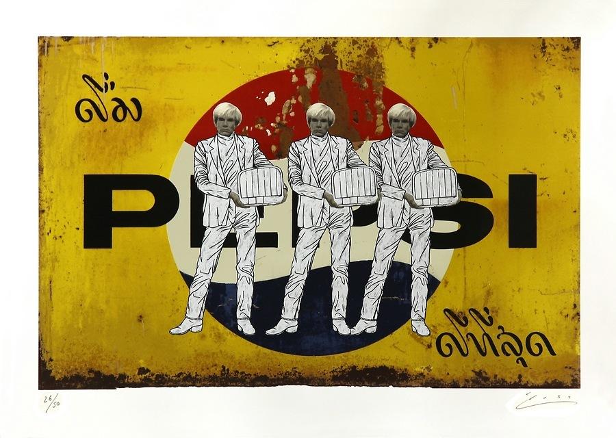 Warhol on Pepsi