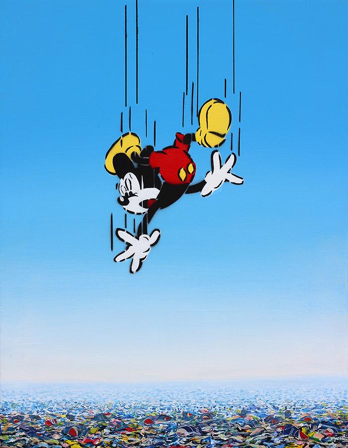 Mickey Falling - Pepsi