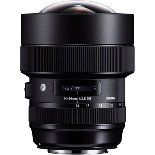 Sigma 14-24mm f/2.8 DG HSM Art Lens for Nikon F