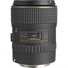Tokina 100mm f/2.8 AT-X M100 AF Pro D Macro Autofocus Lens for Canon EF