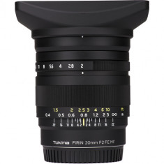 Tokina FiRIN 20mm f/2 FE MF Lens for Sony E
