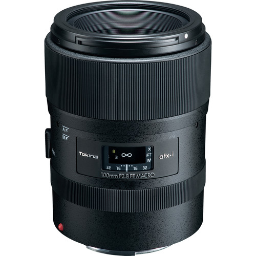Tokina atx-i 100mm f/2.8 FF Macro Lens for Canon EF