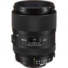 Tokina atx-i 100mm f/2.8 FF Macro Lens for Nikon F