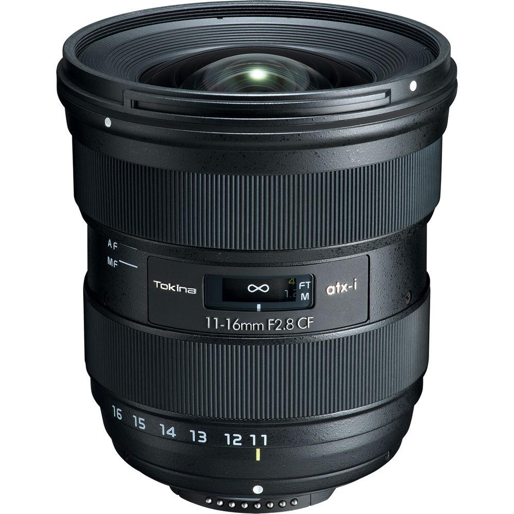 Tokina atx-i 11-16mm f/2.8 CF Lens for Nikon F