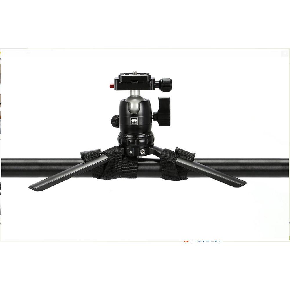 Sirui 3T-15 Tabletop Tripod with B-00 Ball Head (Black)