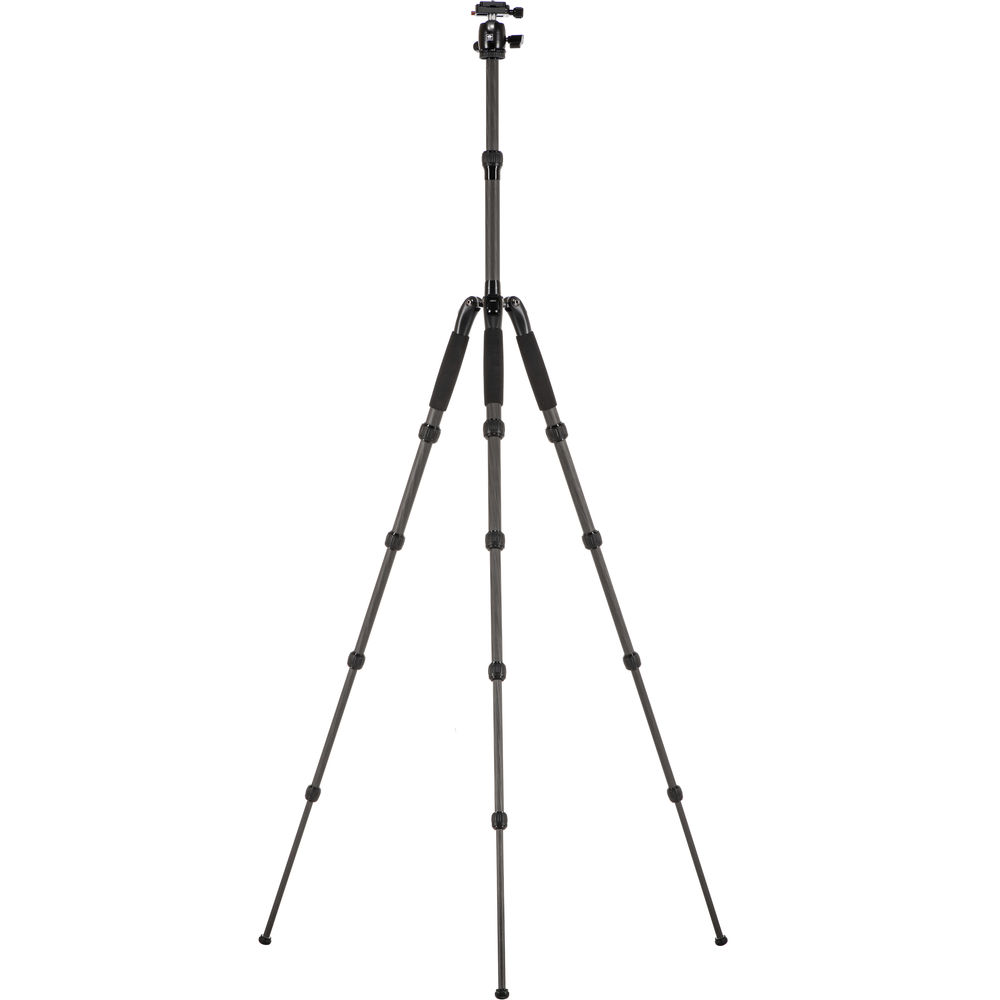 Sirui T-25SK T-0S Series Travel Tripod with B-00 Ball Head (Black, Carbon Fiber)