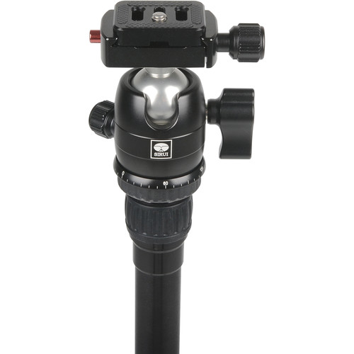 Sirui T-005SK T-0S Series Travel Tripod with B-00 Ball Head (Black, Aluminum)
