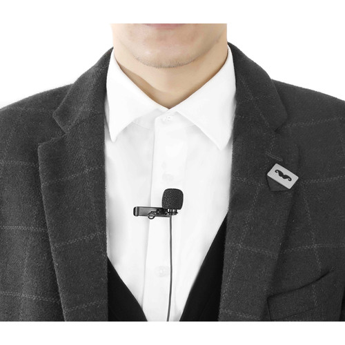 BOYA BY-DM1 Digital Lavalier Microphone for iOS Devices