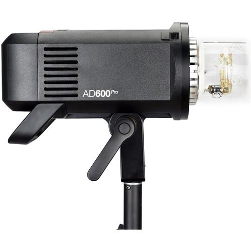 Battery-powered Strobe Flash Heads