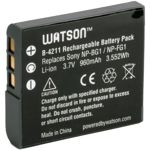 Watson NP-FG1 / NP-BG1 Lithium-Ion Battery Pack (3.7V, 960mAh)