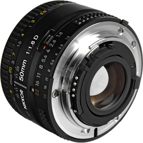 Nikon AF NIKKOR 50mm f/1.8D Lens