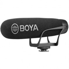 BOYA BY-BM2021 Camera-Mount Supercardioid Shotgun Microphone