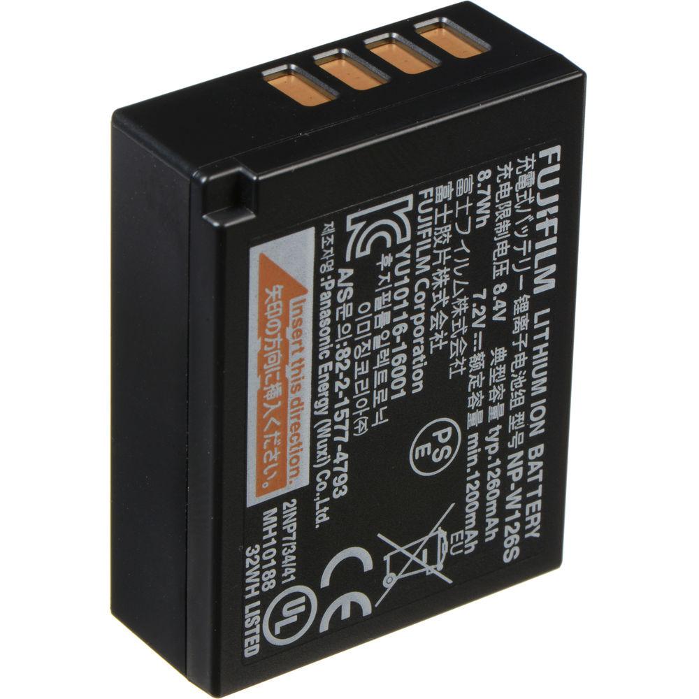 FUJIFILM NP-W126S Li-Ion Battery Pack