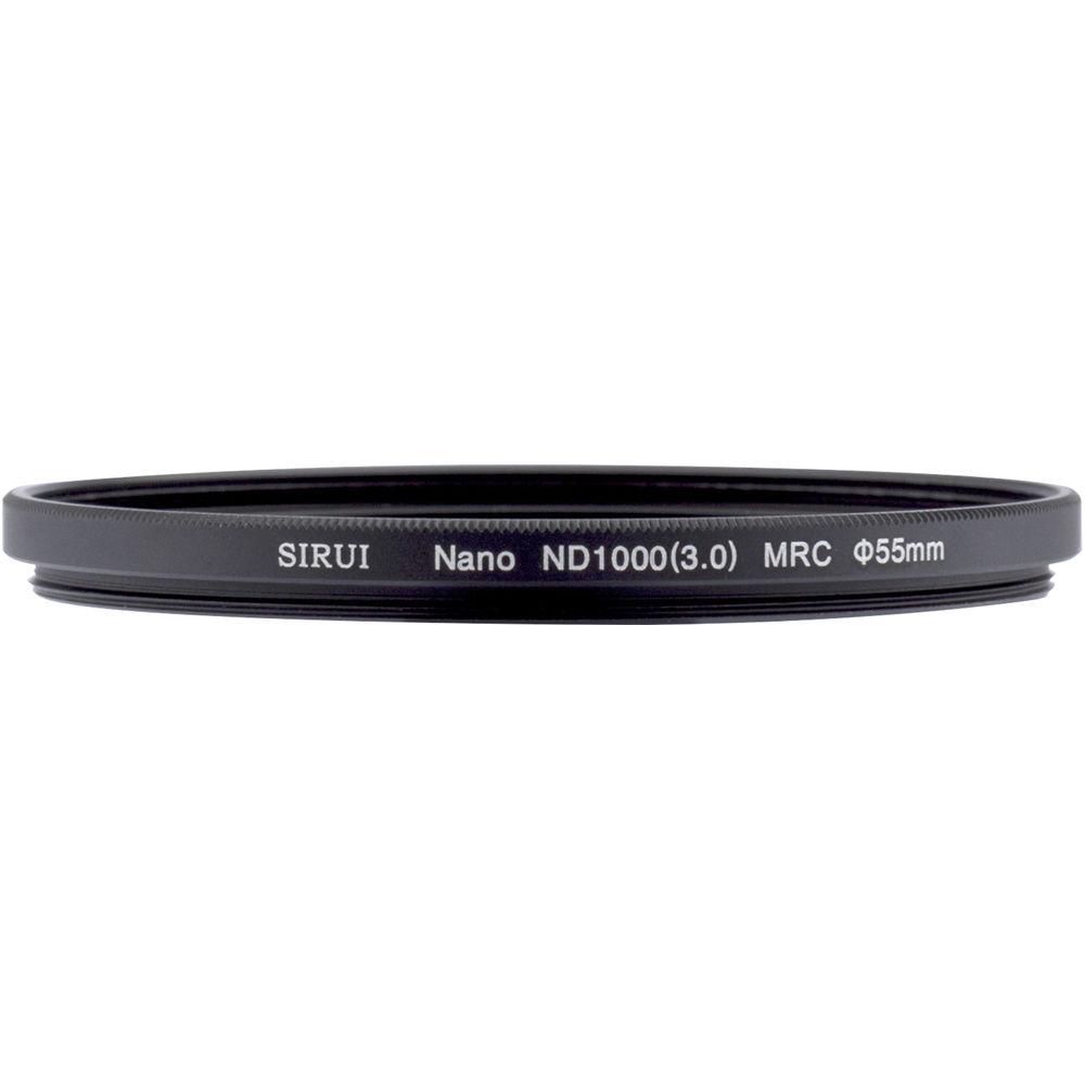Sirui 55mm Nano MC ND 3.0 Filter (10-Stop)