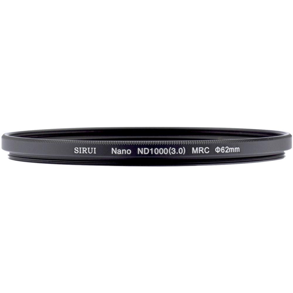 Sirui 62mm Nano MC ND 3.0 Filter (10-Stop)