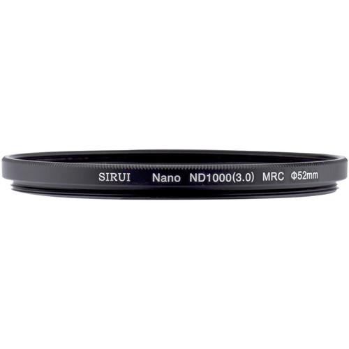 Sirui 52mm Nano MC ND 3.0 Filter (10-Stop)