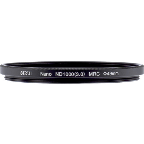 Sirui 49mm Nano MC ND 3.0 Filter (10-Stop)