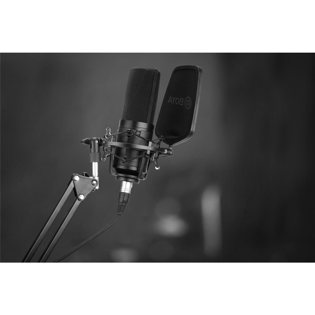 BOYA BY-M1000 Large Diaphragm Condenser Microphone